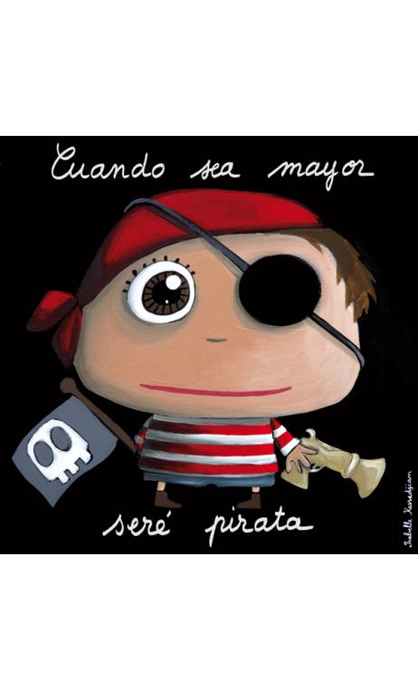 Cuadro Pirata