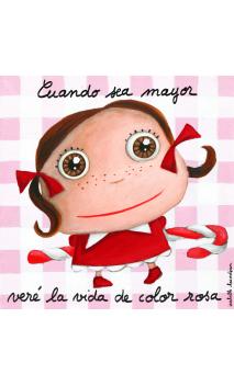 Cuadro Color de rosa