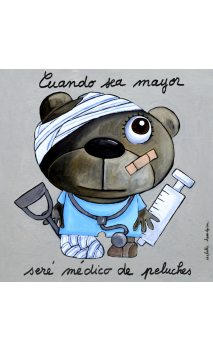 Cuadro Médico Peluche