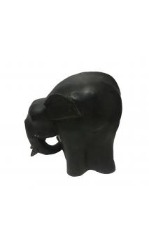 Figura Elefante OVAL 20 Negro