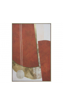 Cuadro Abstracto ROJO 122
