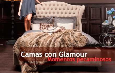 Camas con glamour